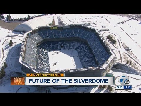 Pontiac Silverdome owners announce design competition to redevelop former Detroit Lions stadium site