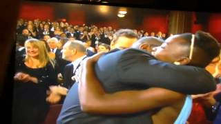 Repeat youtube video Oscar Winner **12 Years a Slave** - *Best Picture 2014!* Steve McQueen Director jumps for joy!