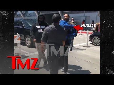 Nipsey Hussle Slaps Guy Outside BET Awards in Parking Dispute