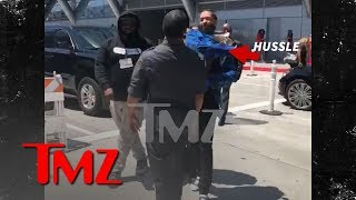 Nipsey Hussle Slaps Guy Outside BET Awards in Parking Dispute | TMZ