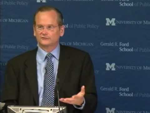 .@fordschool - Lawrence Lessig: How money corrupts Congress