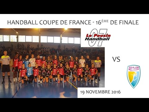 CDF Handball - Le Pouzin - Toulon