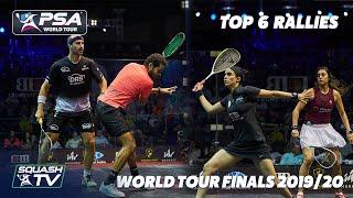 Squash: Top 6 Rallies - World Tour Finals 2019-20