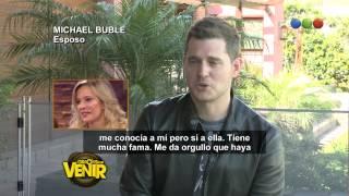 El tierno mensaje de Michael Bublé a Luisana Lopilato - Gracias Por Venir