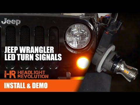 The BRIGHTEST Jeep Wrangler JK LED Turn...