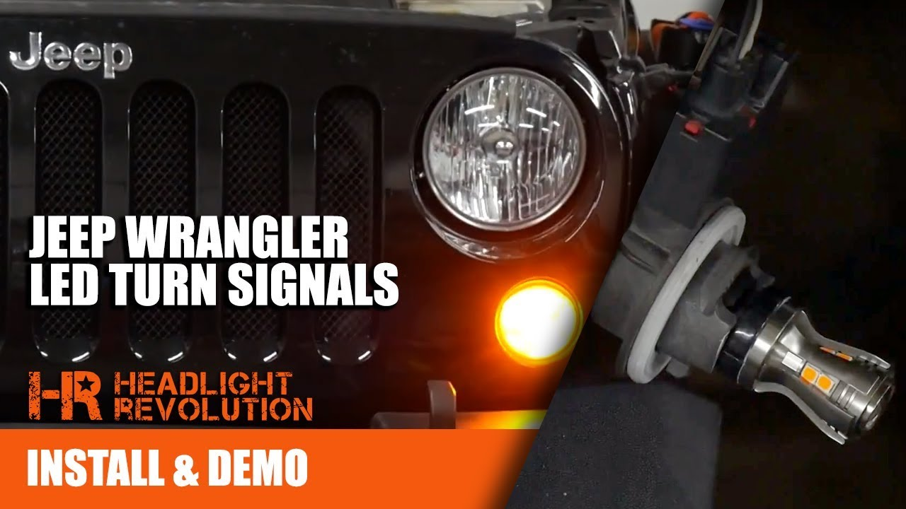 The Brightest Jeep Wrangler Jk Led Turn Signal Bulb