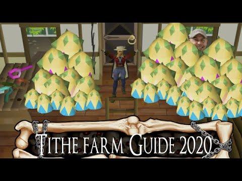 (2020) Tithe Farm Guide - Old School Runescape - OSRS