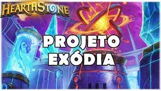 HEARTHSTONE - PROJETO: EXÓDIA! (STANDARD EXODIA MAGE)