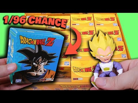 Opening 16 Dragon Ball Z Mystery Figure Boxes - 1/96 Chance of a Super Rare