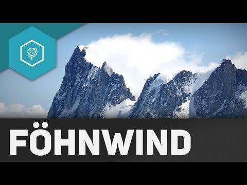 Wie entsteht Föhnwind?