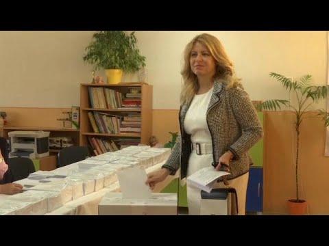 Eslováquia vota para europeias