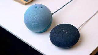 Echo Dot 4th Gen vs Google Nest Mini