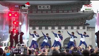 141224 BOYFRIEND   Janus  SPECIAL STAGE  @ NBC The Memory Live Performance