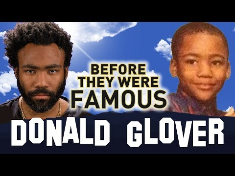 DONALD GLOVER  BeforeThey Were Famous  Biography
