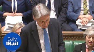 Philip Hammond announces investigation into single use plastic - Daily Mail