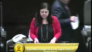Dip. Margarita Tapia (prd) - Código Civil Federal (alienación Parental)