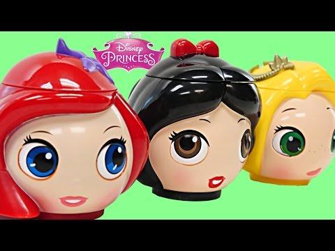 Disney Princess Teapot Surprise Eggs Peppa Pig Shopkins MLP LPS Princesa Huevos Surprise