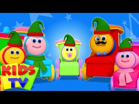 Finger Family | Bob The Train | Video And Song For Babies | Kindergarten Nursery Rhymes by Kids Tv