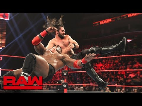 Seth Rollins vs. Bobby Lashley: Raw, Dec. 31, 2018