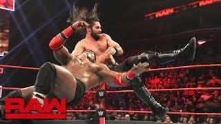 Seth Rollins vs. Bobby Lashley: Raw, Dec. 31, 2018