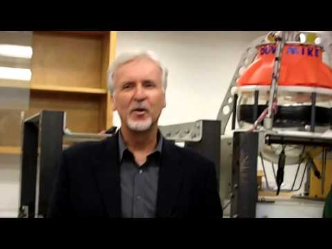 James Cameron Visits Scripps Institution of Oceanography