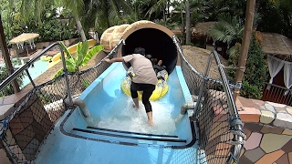 Black Hole Water Slide at Wet World Water Park