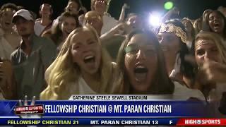 Fellowship Christian vs Mt  Paran Christian