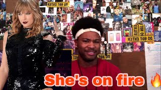 Taylor Swift - I Did Something Bad (Live American Music Awards 2018) | Reaction