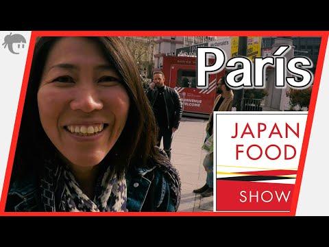 """Visitando """"The Japan Food Show en París"""""""