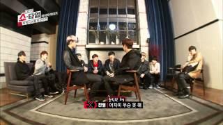 엑소의 쇼타임 - EXOS 쇼타임 12회 허벅지 씨름왕 카이 The King of Thigh battle KAI ep.12 太ももずもう