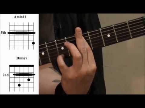 The Modes Explained 3 - 7th Chords of the Modes - Guitar modes lesson