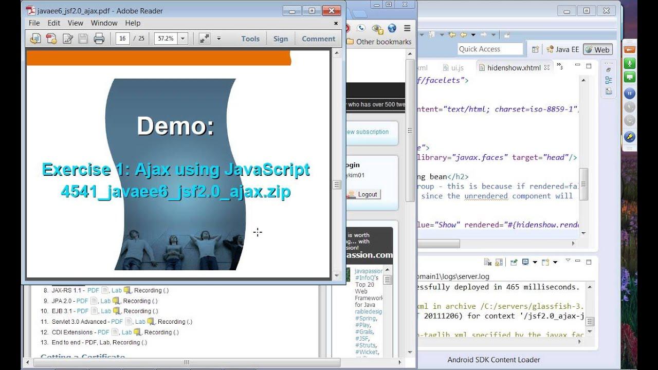 Java Ee 6 Server Programming For Professionals Pdf