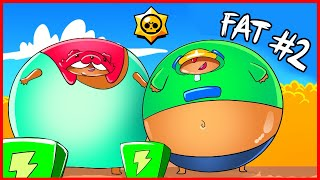 BRAWL STARS ANIMATION - FAT BRAWLERS #2
