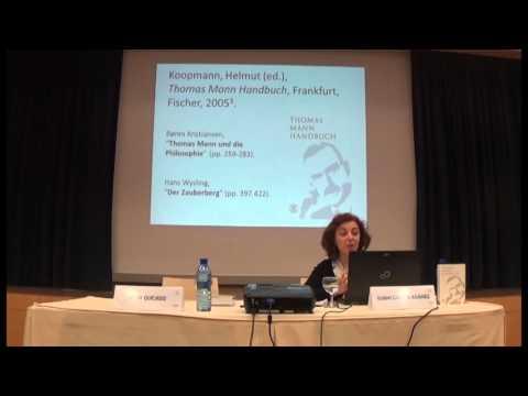 """Isabel Gª Adánez: """"Thomas Mann y Nietzsche: ecos de la lectura nietzscheana en `La montaña mágica´"""""""