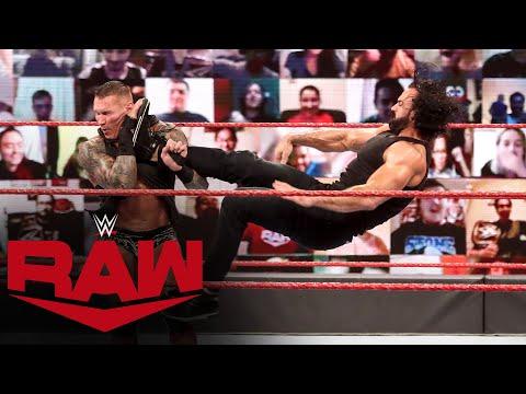 Drew McIntyre returns and Claymores Randy Orton: Raw, September 7, 2020