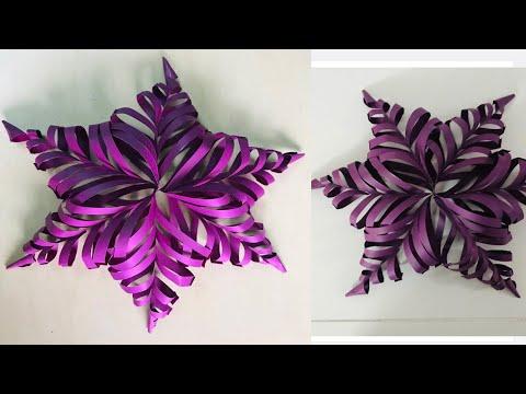 DIY-paper craft for birthday celebration/ paper craft -wall decoration from paper- wall decor
