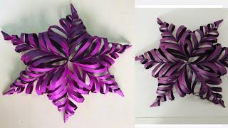 DIY-paper craft for birthday celebration/ paper craft -wall decoration/ ganpati pandal decoration