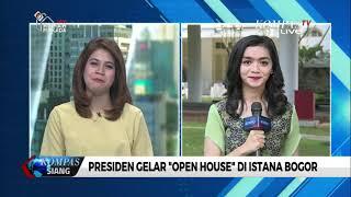 Presiden Gelar Open House di Istana Bogor