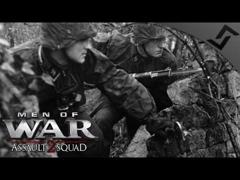 Waffen SS vs Red Devil Paratroopers in Arnhem - Men of War: Assault Squad 2 - Robz Mod Multiplayer
