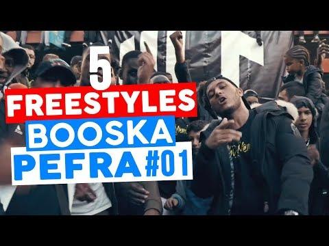 5 FREESTYLES 🎥 BOOSKA PEFRA 🎥 #01   100BLAZE, NINHO, RK, HORNET LA FRAPPE, MOHA LA SQUALE ...