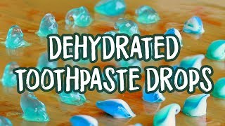 How to Make Dehydrated Toothpaste Drops - DIY Hiking and Travel