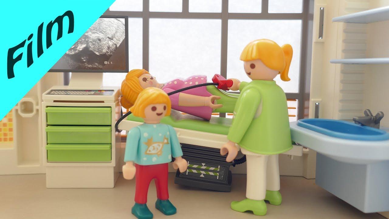 Playmobil Film Deutsch Mit Mama Beim Arzt Wie Geht Es Dem Baby