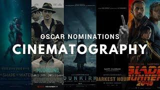 Oscar nominations: Cinematography - 2018