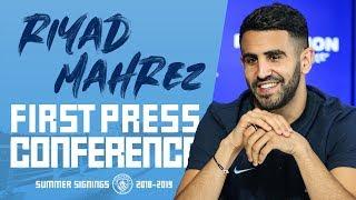 RIYAD MAHREZ | FIRST PRESS CONFERENCE | PART 1