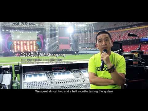 Wang Feng Concert @ The Birds Nest Stadium - Beijing