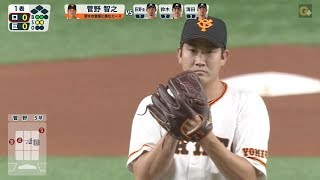 【ハイライト】6/9 菅野が25日ぶりの復帰登板!11得点で巨人が勝利!【巨人対ロッテ】