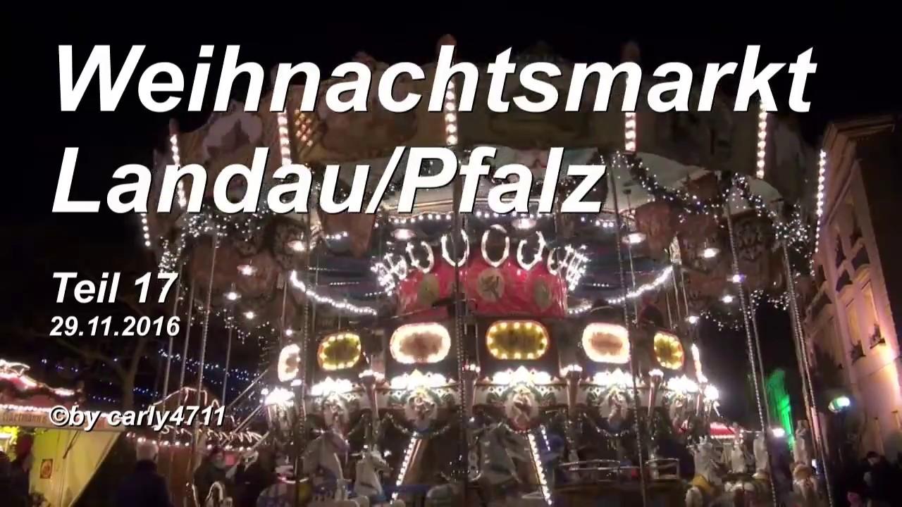 Landau Weihnachtsmarkt.Weihnachtsmarkt Landau Pfalz Germany 2016 T17 17