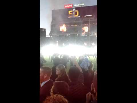 Superbowl 50 Halftime Show Fan Experience 2