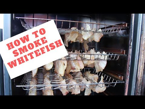 How To Smoke Whitefish. Easy Step By Step Recipe For Smoked Candy!!!