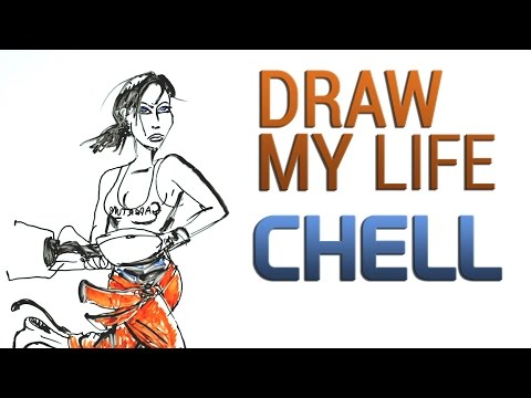 Draw My Life : Chell By Martin Darondeau